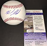 Kyle Freeland Colorado Rockies JSA DEBUT COA Signed Autographed Baseball