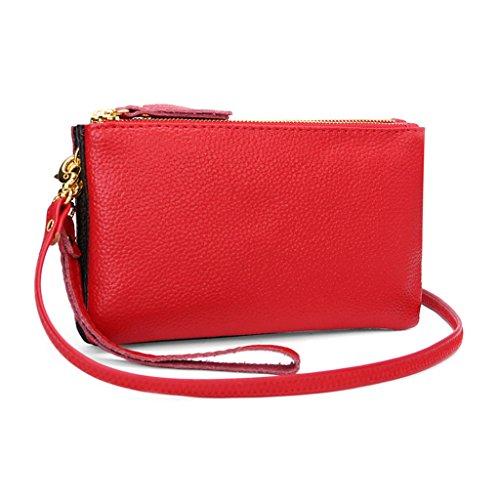 Red Vert Pochette Femme foncé JAGENIE pour w0vqg4nX