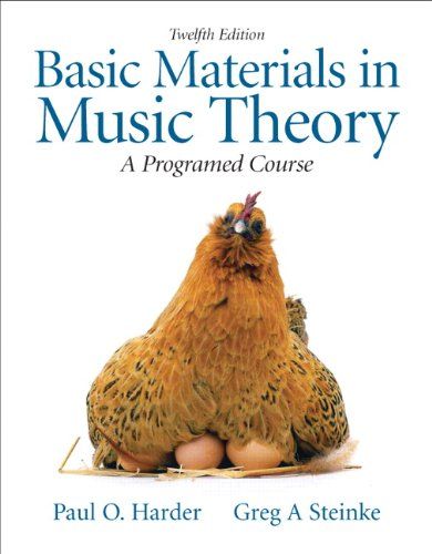 Basic Mtrls.In Music Theory Text