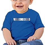 Baby Infant Walking Dead Platinum Logo Cute Short-sleeve Tee