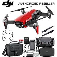 DJI Mavic Air Drone Quadcopter (Flame Red) Starters Travel Bundle