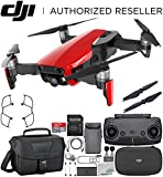 DJI Mavic Air Drone Quadcopter (Flame Red) Starters Travel Bundle