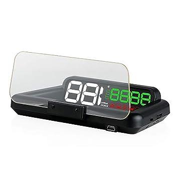 WHQ OBD HUD Espejo Car Head Up Display Velocímetro Digital ...