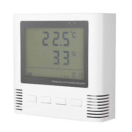 Digital Temperature and Humidity Gauge Detector Environmental Meter Tester, Indoor Temperature Humidity Meter Detector With