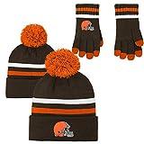 NFL Kids & Youth Boys 2 Piece Knit Hat Gloves Set