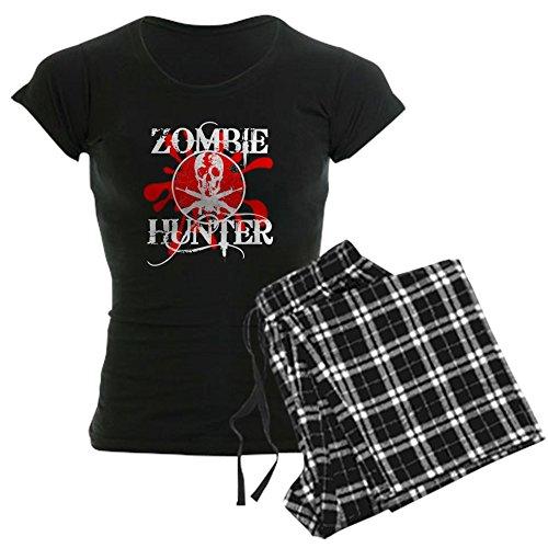 CafePress Zombie Hunter Womens Novelty Cotton Pajama Set, Comfortable PJ Sleepwear