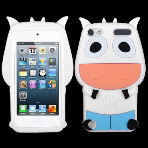 - Fits Apple iPod Touch 5 (5th Generation) Soft Skin Case White Cow Pastel Skin (does NOT fit iPod Touch 1st, 2nd, 3rd or 4th generations)