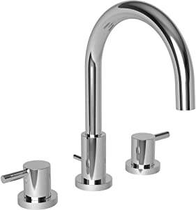Newport Brass 8200/26 Newport 365 Bronwen Lavatory Bathroom Sink Faucet, Polished Chrome