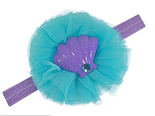 Little Mermaid Inspired Baby and Toddler Girls Elastic Costume Headband (12 Months-5 (Mermaid Costume Party City)
