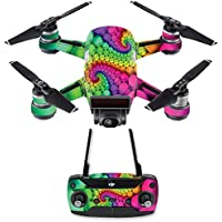 Skin for DJI Spark Mini Drone Combo - Hallucinate| MightySkins Protective, Durable, and Unique Vinyl Decal wrap cover | Easy To Apply, Remove, and Change Styles | Made in the USA