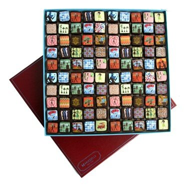 MariBelle's Cien Red Box - 100 Piece Choclates