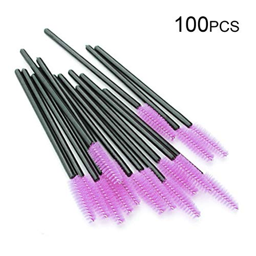 100pcs/lot Disposable Eyelash Extension Mascara Brushes Individual Applicator