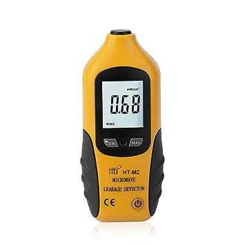 HT-M2 Profesional Digital Display LCD Microondas Detector de fugas de alta precisión medidor de