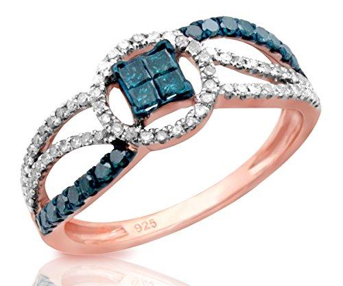 0.48 Ct Princess Diamond - 2