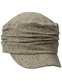 D&Y Women's Marled Ruched Cadet Hat