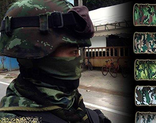 Camo Headwear Multipurpose Function 062067 Biker Bb Gun Fishing Angler Extreme Motocross by Tamegems
