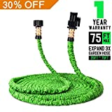 Keelyn Garden Hose - All New Expandable Water Hose, 75ft Flexible Expanding Hose