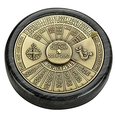 Authentic Models BC006 50-Yr Calendar: Toys & Games