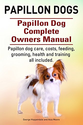 Papillon dogs. Papillon dog care, costs, feeding, grooming, health and training all included. Papillon dog Complete Owners Manual. 1
