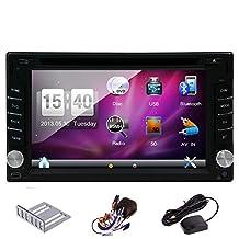 Hot sale 6.2''Wince car dvd gps player Bluetooth GPS Nav car audio Digital Touch screen Radio car2din AUX/SD/USB universal in deck Car CD Player