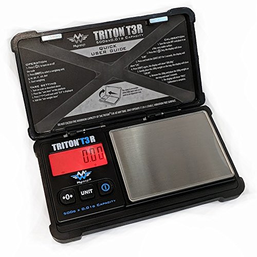 Rechargeable Scale (Triton T3R Recharbeable Scale 500g x .01g)