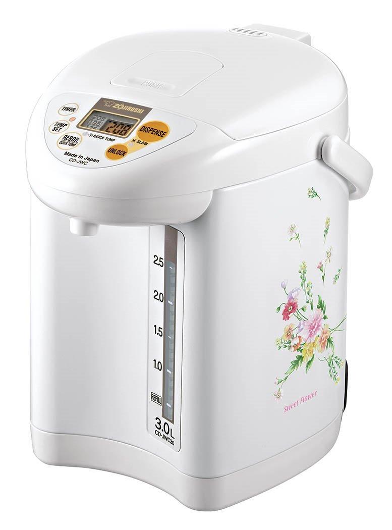 Zojirushi CD-JWC30FZ Micom Water Boiler & Warmer, 3.0 L, Natural Bouquet