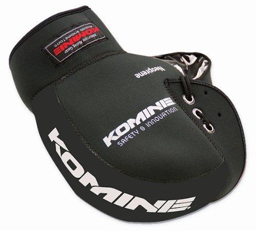 コミネ(Komine)バイク用ハンドルカバーネオプレンハンドルウォーマーブラックフリー09-021AK-021