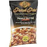 Pretzel Pete Gourmet Pretzel Nuggets, Peanut Butter Filled, 4.5-Ounce Bags (Pack of 15)