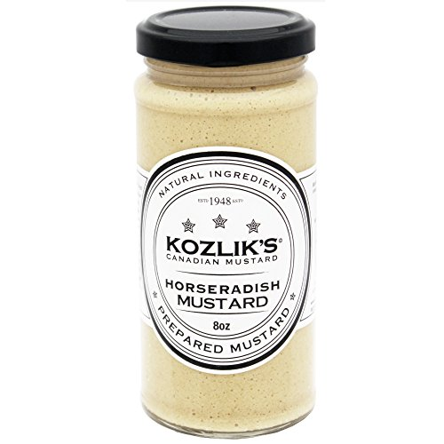Horseradish Mustard - 8.5oz (241gm) - 3 Pack