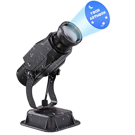 15W LED GOBO Proyector Logotipo Personalizado Exterior Impermeable ...