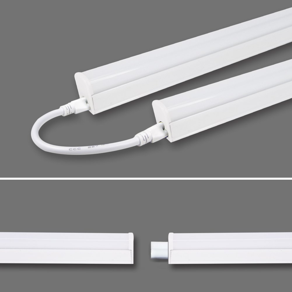 (Pack Of 6) LED T5 Integrated Single Fixture 4FT,20W