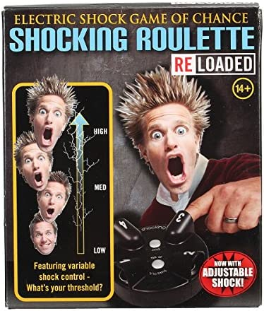 Shocking Roulette Game Electric Liar Shock Game Reloaded Lucky Party Game