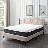 Whats the Best Memory Foam Mattress Topper Classic Brands Cool Gel and Ventilated Memory Foam 12-Inch Mattress, CertiPUR-US Certified, California King