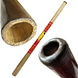 Solid Wood Didgeridoo, Beeswax Mouthpiece - 52\