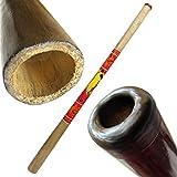Solid Wood Didgeridoo, Beeswax Mouthpiece - 52\
