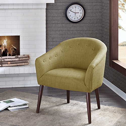 Barrel Accent Chair Green below product image