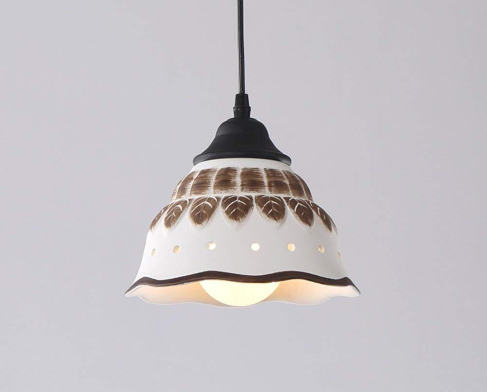 FXING Die Restaurant Kronleuchter ländlichen Pastorale Retro Beleuchtung Moderne, einfache Beleuchtung (Größe  12 cm)