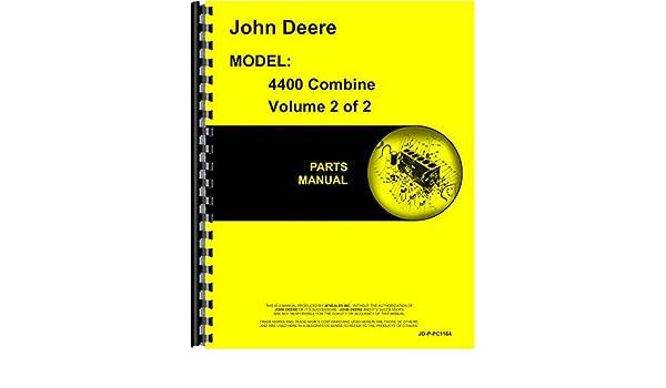 john deere 4400 combine parts manual john deere manuals rh amazon com 9500 john deere combine parts manual john deere 4420 combine parts diagram