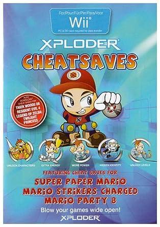 Wii Xploder Cheat Saves Mario Amazonde Games
