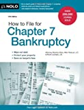 How to File for Chapter 7 Bankruptcy, Stephen Elias and Robin Leonard, 1413316336