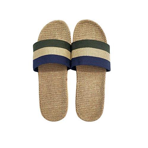 Lightweight Slippers Slipper Summer For Men Shoes Silent Men Linen Floor House Hrfeer Beach f5YgXcwnq