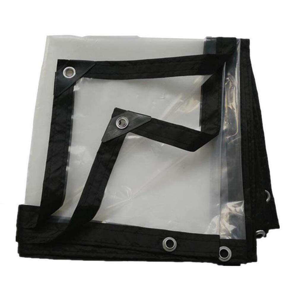 Qing MEI Transparenter Verdickungsrand Perforierte Wasserdichte PlastikblattfensterbalkonBlaumen-Erntegewächshausfolie A+ (größe   5x8m)