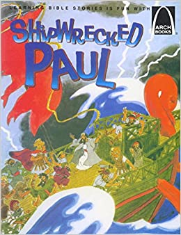 childrens story of the shipwreck of paul