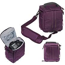 Navitech Purple Digital Camera Case Bag Cover For TheFujifilm Instax Wide 300 Instant Film Camera