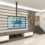 90 tv sharp - Vemount Adjustable Tilting TV Ceiling Mount Bracket Fits Most 32-55 LCD LED Plasma Monitor Flat Panel Screen Display with VESA 400x400 400x300 400x200 300x300 300x200 200x200 200x100 100x100 75x75mm