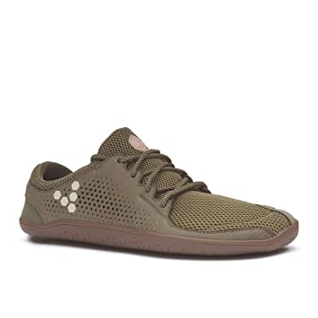 4ecc8854ff Image Unavailable. Image not available for. Color  Vivobarefoot Men s Primus  Trio Leather - Olive ...