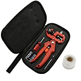 Professional Garden Grafting Pruner Cutting Tools Kit with Grafting Tape for Fruit Tree by Stormshopping