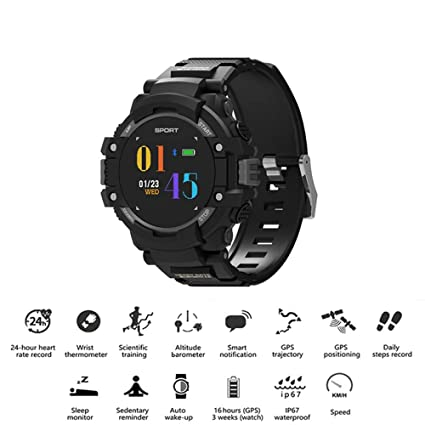 TONGTONG Reloj Inteligente Deporte rastreador de Actividad ...
