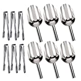 YsesoAi 6 Sets Sweet Candy Buffet Ice Tongs & Scoops Wedding Bar Party Dedicated