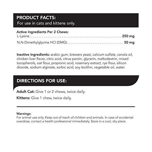 Cat Health Products VetriScience Laboratories – Vetri Lysine Plus, 120... [tag]